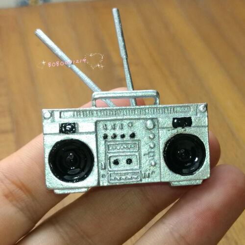 Dollhouse Miniature 1:12 Toy A Metal Silver Recorder Length 4cm SPO573