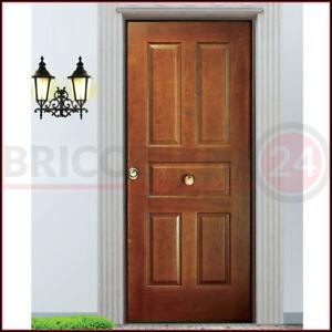 Dettagli Su Porta Blindata Con Pannello In Legno Per Esterno Classe 3 4 Portone Ingresso