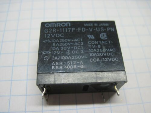 OMRON Relay G5R G5GA G5PA G2R G5R G5Z-2A   12VDC 24VDC Tested