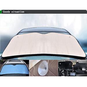universal sonnenschutz auto sonnenblende frontscheibe dick sonnenschirm silber ebay. Black Bedroom Furniture Sets. Home Design Ideas