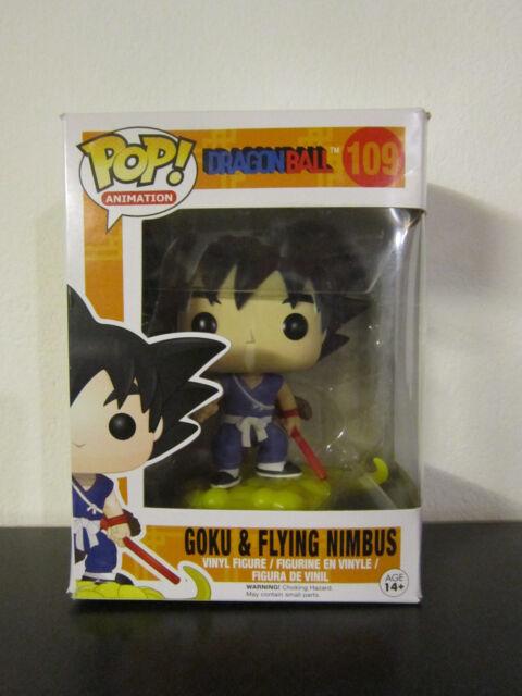 Funko Pop Animation DragonBall Goku and flying Nimbus Nr. 109