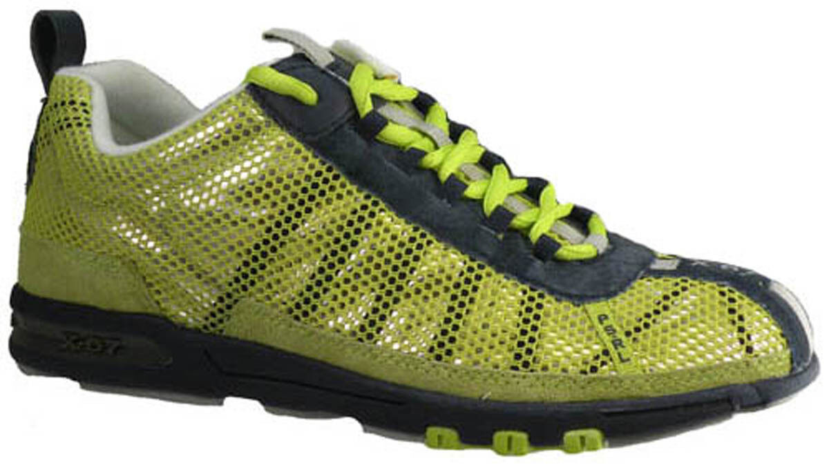 New  Polo Sport Labyrinth Women shoes US 6.5 Navy   Acid Green