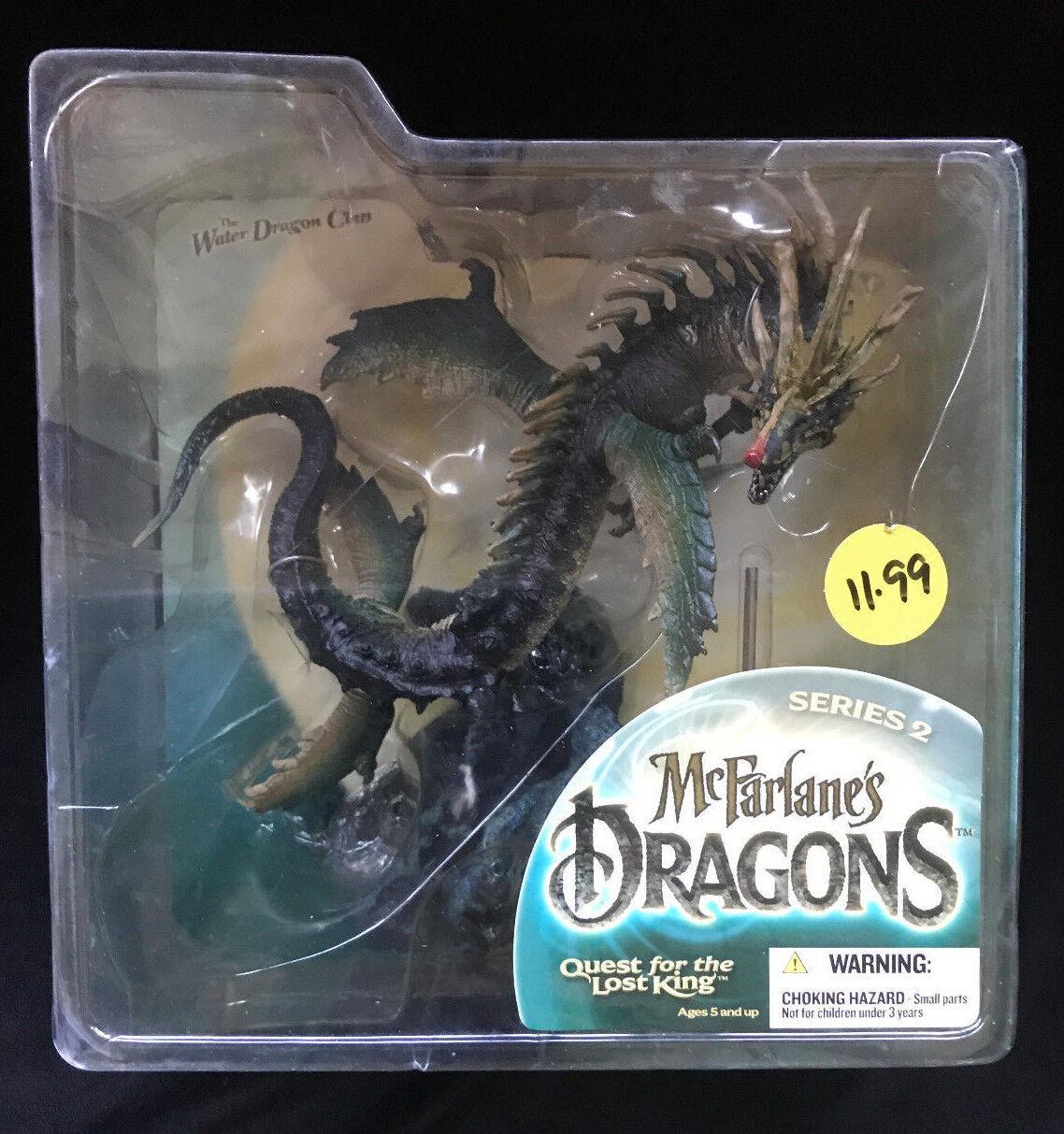 McFarlane/'s Dragons Series 2 Water Dragon Clan Action Figure Sealed MOC MISB