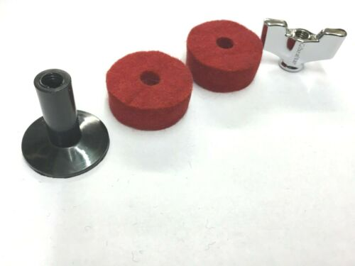 Ahead Cymbal Stand First Aid Replacement Felts Wing nut //Sleeve sets