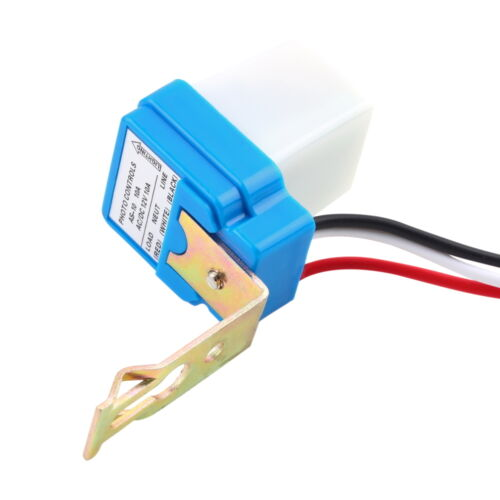 New AC DC 12V 10A Auto On Off Photocell Street Light Photoswitch Sensor BO