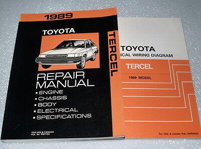 1989 TOYOTA TERCEL Service Repair Manual & Electrical ...