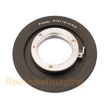 Pentax 110 Lens to Micro 4/3 MFT Adapter Olympus E-M1 E-M5 E-M10 E-PM2E-PM1 E-P5