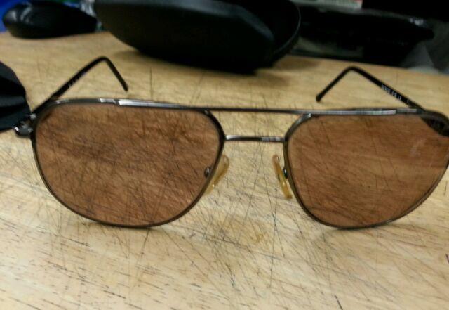 c90d3ceb11254 Giorgio Armani Sunglasses Unisex Metal Frame Gunmetal 56-18-140 w Case