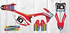 Honda CRF 250 450 Factory MX GRAPHICS 2013 2014 2015 2016 Custom Motocross