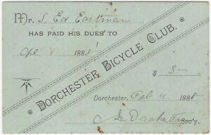 1888-Dorchester-Massachusetts-Bicycle-Club-Membership-Card