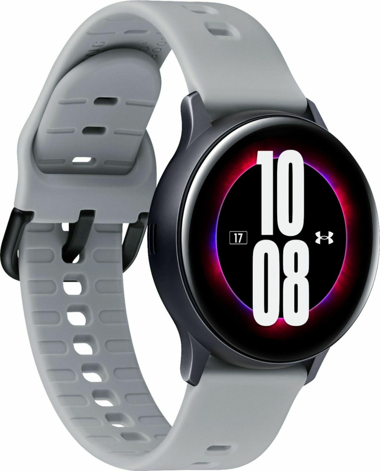 Samsung Galaxy SmartWatch Active2 40mm Aqua BlackUnder Armour 40mm active2 aqua armour blackunder Featured galaxy samsung smartwatch