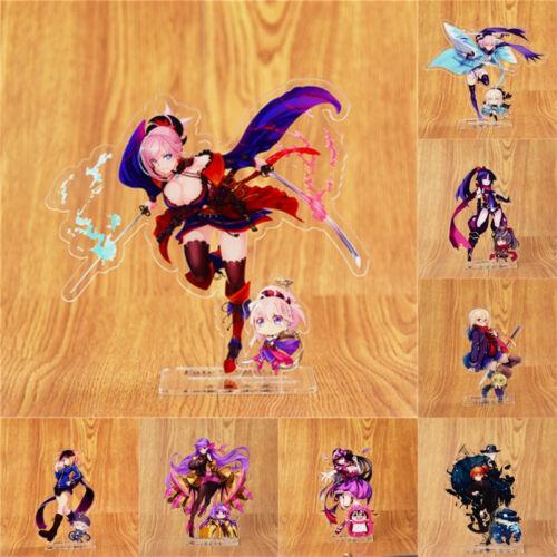 Anime Fate Grand Order FGO Miyamoto Musashi Acrylic Stand Figure /& Keyring Gift