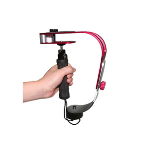 Al-Alloy-Handheld-Video-Camera-Gimbal-Grip-Stabilizer-for-GoPro-Smartphone-New