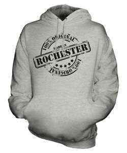 Womens Ladies 50th In Made Hoodie Gift Rochester Mens Unisex Christmas Birthday dwXvY4Yx