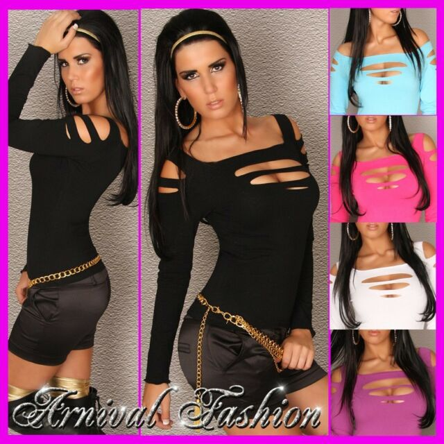 NEW WOMENS SEXY FASHION TOP size 6 8 10 LADIES HOT CLUBWEAR DANCE PARTY WEAR S M