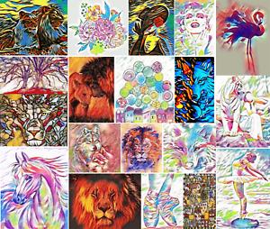 DMC-Modern-Colorful-Cross-Stitch-Embroidery-Pattern-Kits-Chart-PDF-14-count