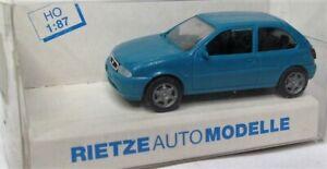Rietze 1:87 Ford Fiesta Mk 4 1995 OVP türkis
