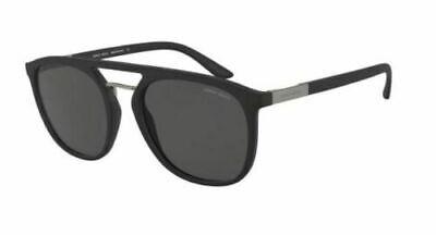 Intenzionale Giorgio Armani 8118 53 500187 Black Occhiale Sunglasses Lenses Grey