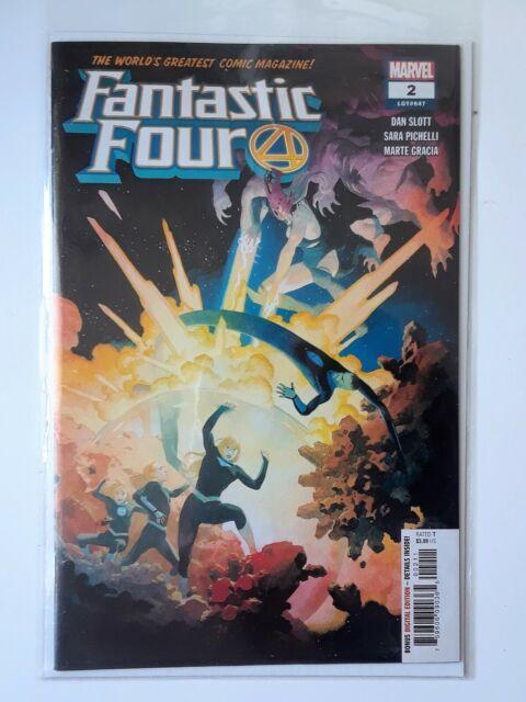 Marvel Fantastic Four #2 Comic (2018)