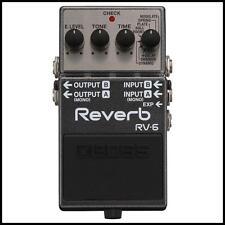 Boss RV-6 Digital Delay / Reverb Guitar Effects Pedal  New