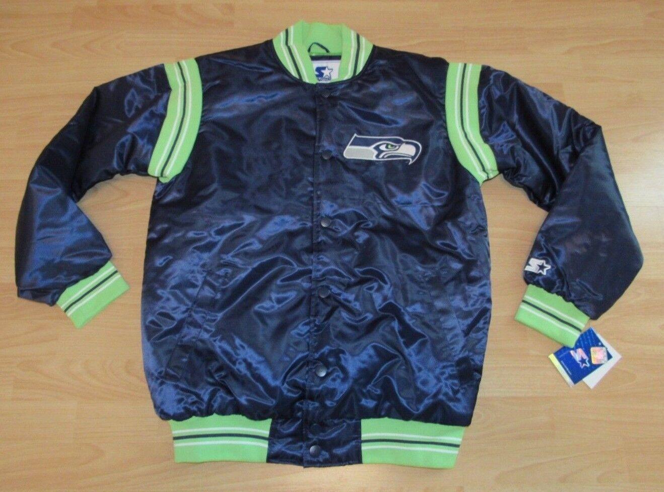 Seahawks de Seattle Estilo Vintage Starter Chaqueta Hombre Tamaño 2XL - Ejecutor