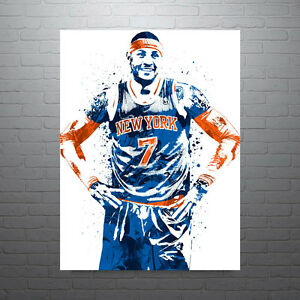 Carmelo Anthony New York Knicks Poster FREE US SHIPPING