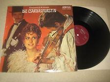 Emmerich Kalman - Die Csardasfürstin  Vinyl  LP Amiga   1974