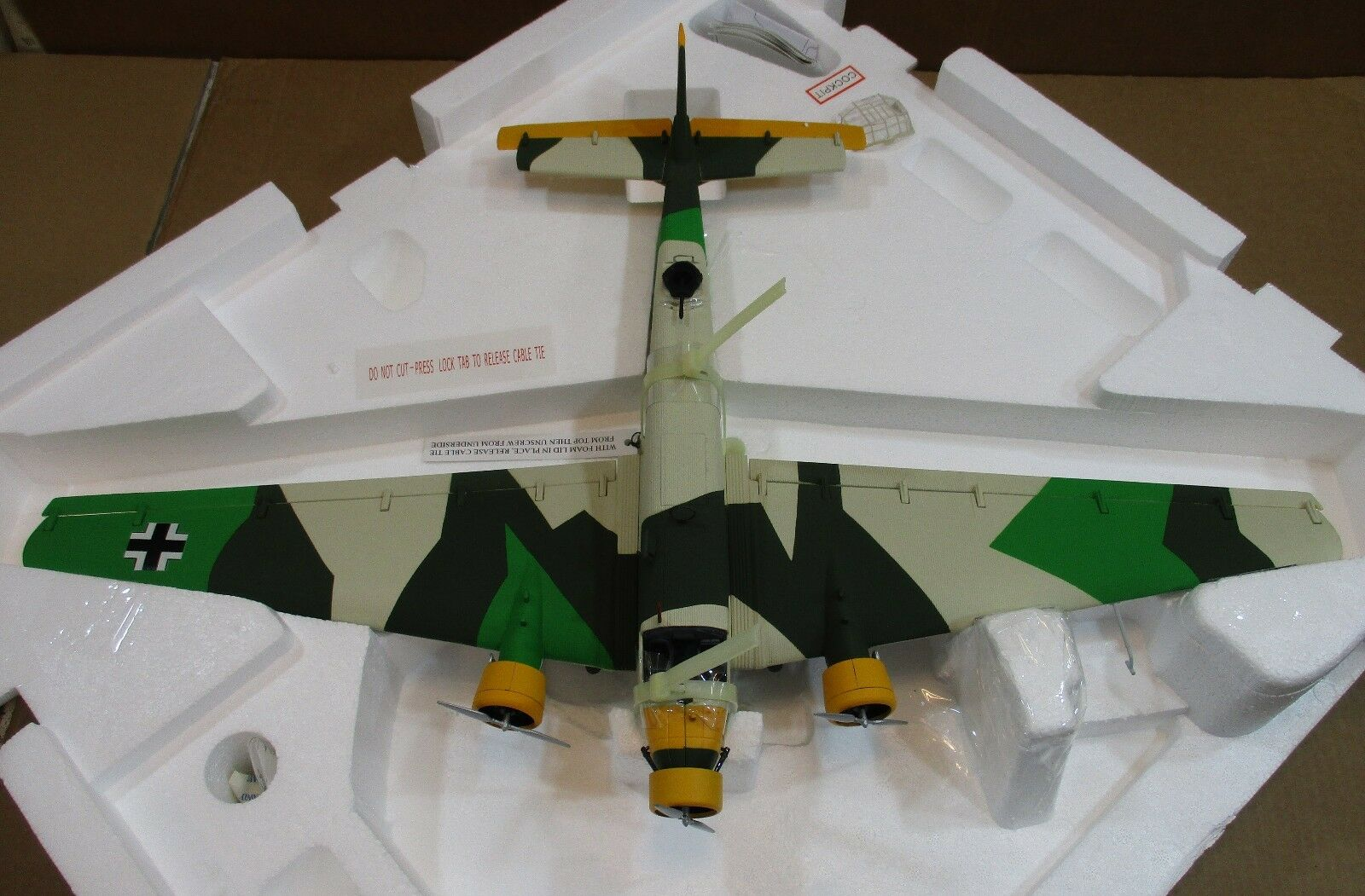 "Franklin Mint Big 24""Junkers 24""Junkers 24""Junkers JU 52-3m g4e Stab IV KGZV1 Balkan Germany 1 48 E3 2cce8a"