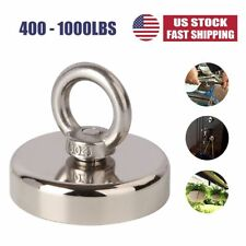 Super Strong Neodymium Fishing Magnets With Holes 400lbs 600lbs 800lbs 1000lbs