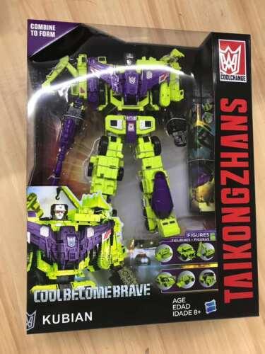 Transformers Devastator 6 In 1 Action Figure Engineering Truck Robot KO No Box