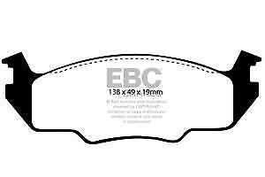 DP366/2 EBC Ultimax Front Brake Pads for VW  Golf Mk1 Jetta Passat Scirocco