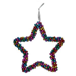 Stern-Haenger-bunte-Gloeckchen-Fensterstern-Weihnachtsstern-Deko-Glocke-22-cm