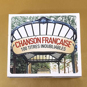 CHANSON-FRANCAISE-100-TITRES-INOUBLIABLES-2011-WAGRAM-OTTIMO-CD-AL-163