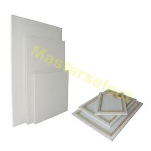 10 x tableau blanc neutre chassis bois toile coton pour a peinture pas cher ebay. Black Bedroom Furniture Sets. Home Design Ideas