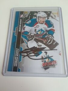 2013-14-ITG-Heroes-amp-Prospects-Madison-Bowey-Autograph-Signed-Rc-Rookie