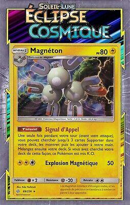 SL12:Éclipse Cosmique Magnéton Holo 69//236 Carte Pokemon Neuve Française