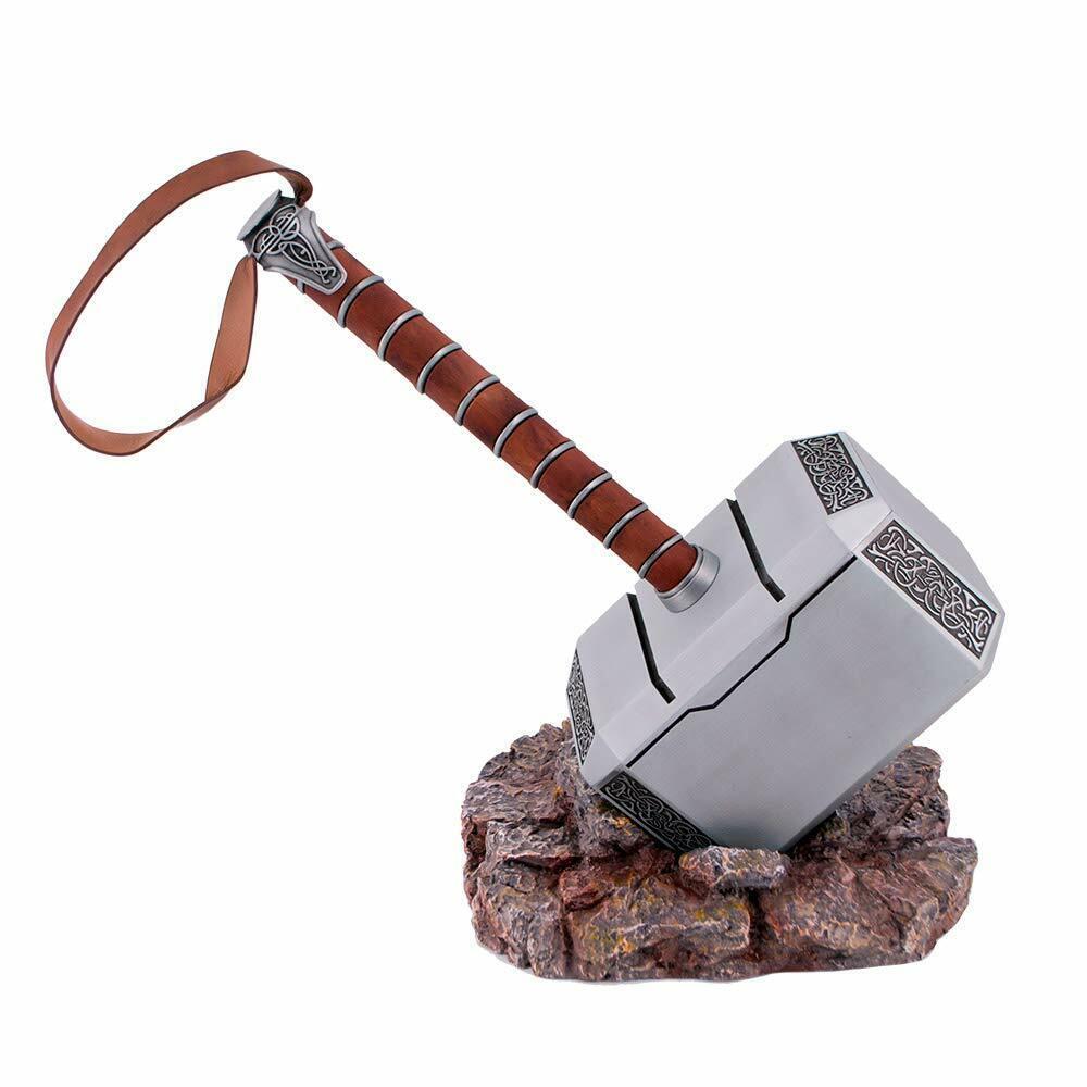 Marteau de Thor en Acero. 5,4 Kilos. Longs Total de 45 Cm. Utilisation Ornement