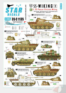 Star-Decals-1-35-SS-Wiking-2-Bef-Panther-Panther-Bef-PzKpfw-IV-SdKfz-251