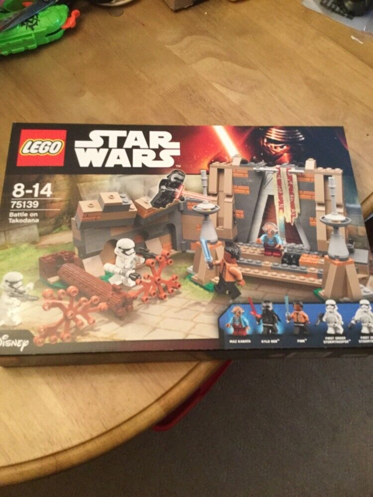 Star Wars Lego 75139 Battle on Takodana The Force Brand Awakens Brand Force New Sealed 486de9