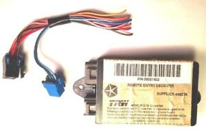 Details about 1997 Dodge Ram 2500 3500 OEM Keyless Entry Receiver Module w/  Wiring 56021422
