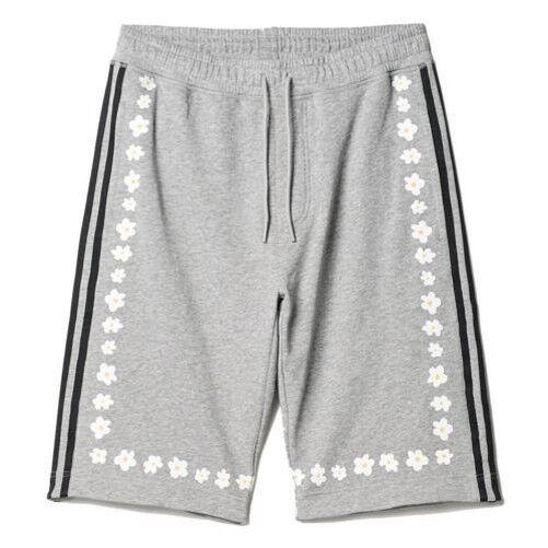 Adidas ORIGINALS PHARRELL WILLIAMS GREY LONG DAISY SHORTS MEN'S SUMMER BEACH NEW