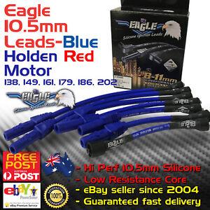 EAGLE-10-5mm-Ignition-Spark-Plug-Leads-Fits-Holden-6-Red-Motor-149-202-Kit