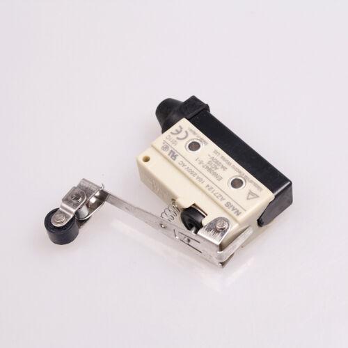 1PCS Long Hinge Roller Lever Enclosed Basic Limit Switch 1 NO 1 NC