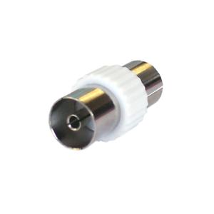 10 X RF Koaxial Kupplung Antennenkabel Tv Verbinder Adapter Buchse auf F