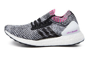 7b9e2852359 Image is loading ADIDAS-ULTRA-BOOST-X-WOMENS-WHITE-BLACK-PINK-