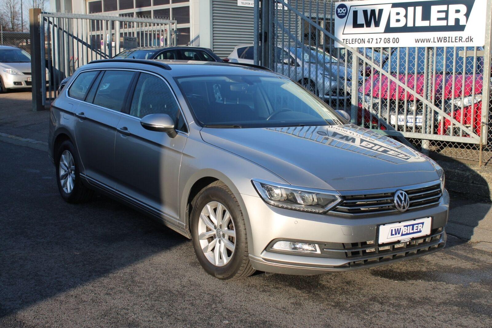 VW Passat 2,0 TDi 150 Comfortl. Vari. DSG 5d - 193.900 kr.