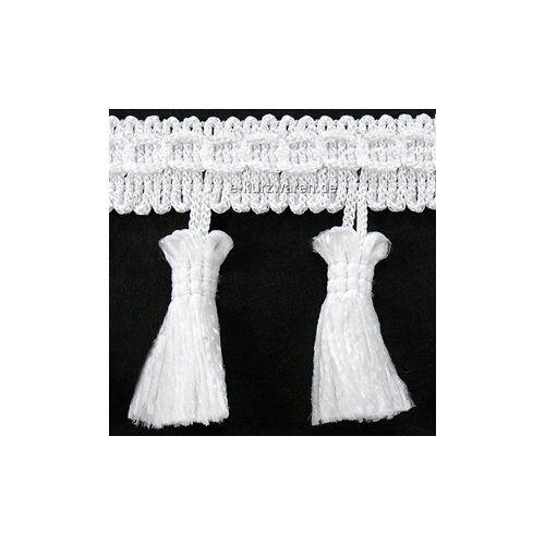 1m//5m//25m cenefa con borlas 55mm quastenborte troddel visillos cortinas