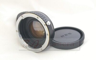 NEW Canon EOS focal reducer speed booster adapter for Sony NEX6 7  FS700 A6000