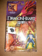 DRAGONHEART BOWEN FIGURE WITH SPEAR SHOOTING WAR WAGON Kenner Hasbro