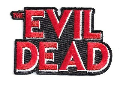 "EVIL DEAD Logo Embroidered 3.25""  Patch- FREE S&H (MIPA-ED)"
